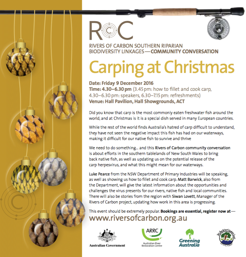 Carping at Christmas Flyer